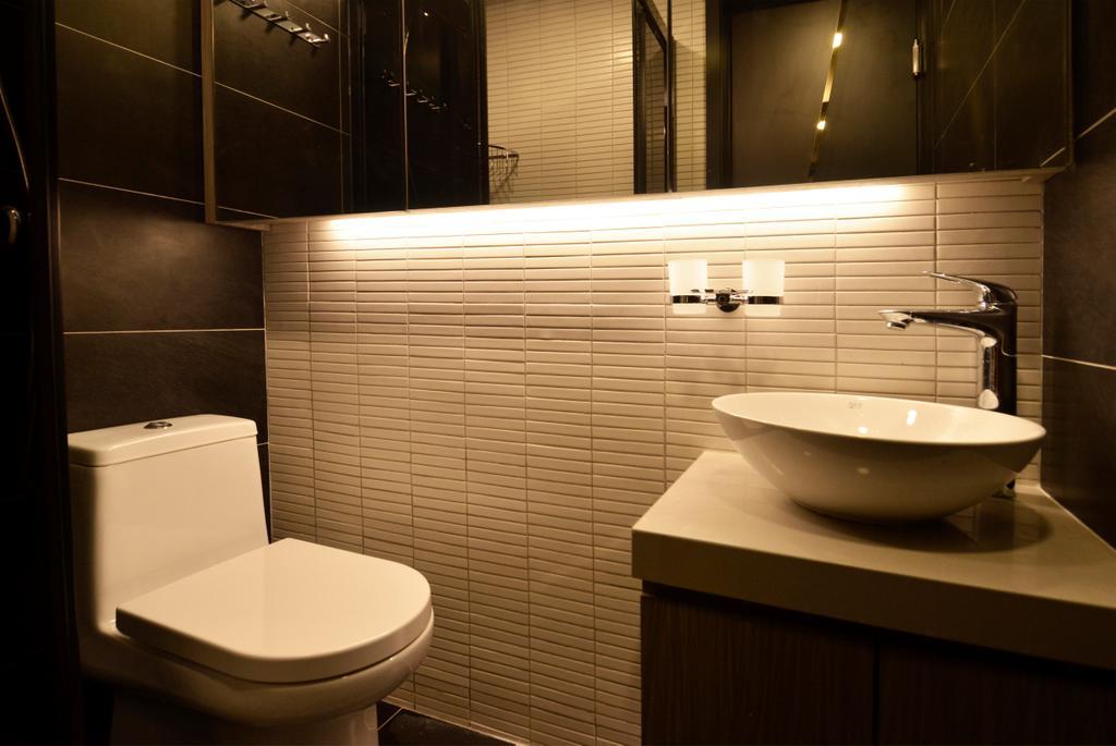 私家樓, 浴室, 長安邨, 室內設計師, MAD Studio Limited