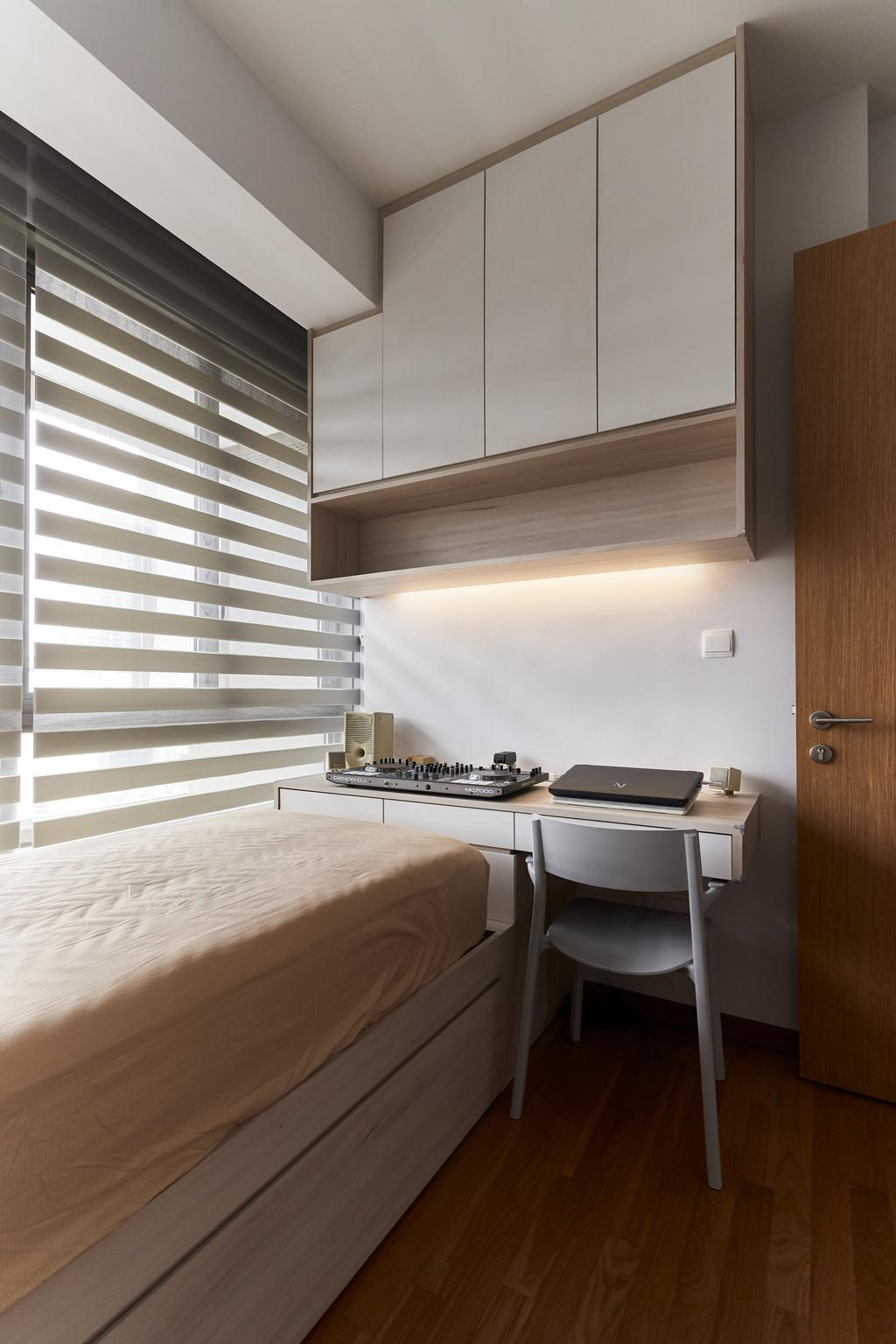 Scandinavian, Condo, Bedroom, Derbyshire, Interior Designer, Charlotte's Carpentry