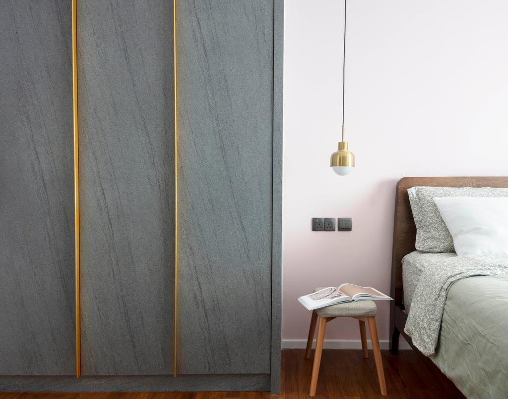 Contemporary, HDB, Bedroom, Punggol Walk, Interior Designer, KDOT