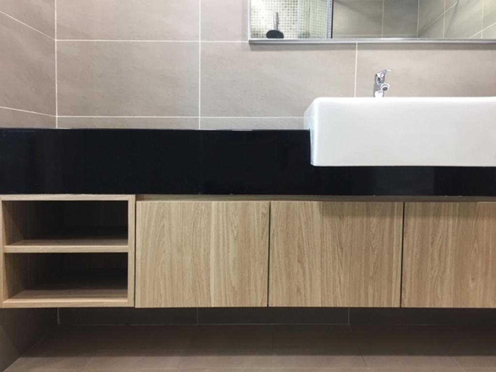 Modern, Apartment, Bathroom, V Residence 2, Sunway Velocity, Interior Designer, Spazio Design Sdn Bhd, Contemporary