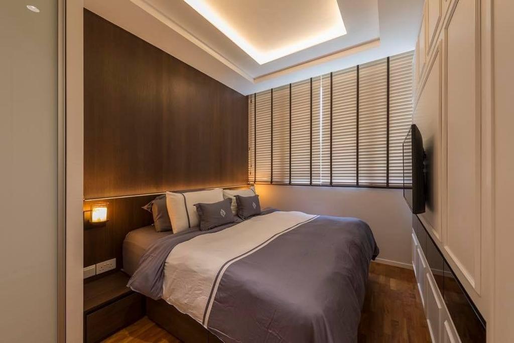 Contemporary, Condo, Bedroom, The Amore, Interior Designer, Earth Interior Design Pte Ltd