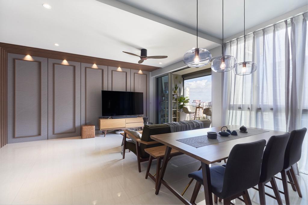Contemporary, Condo, Living Room, Sol Acres, Interior Designer, Boewe Design