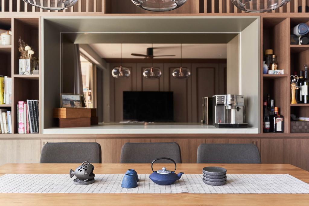 Contemporary, Condo, Dining Room, Sol Acres, Interior Designer, Boewe Design