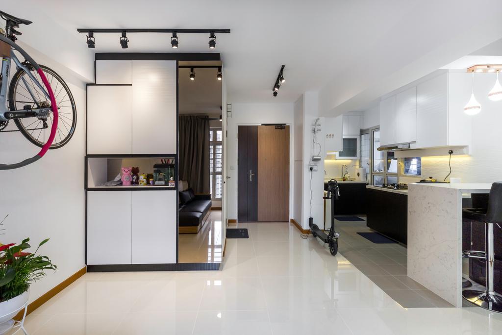 Contemporary, HDB, Living Room, Sumang Walk, Interior Designer, Tab Gallery
