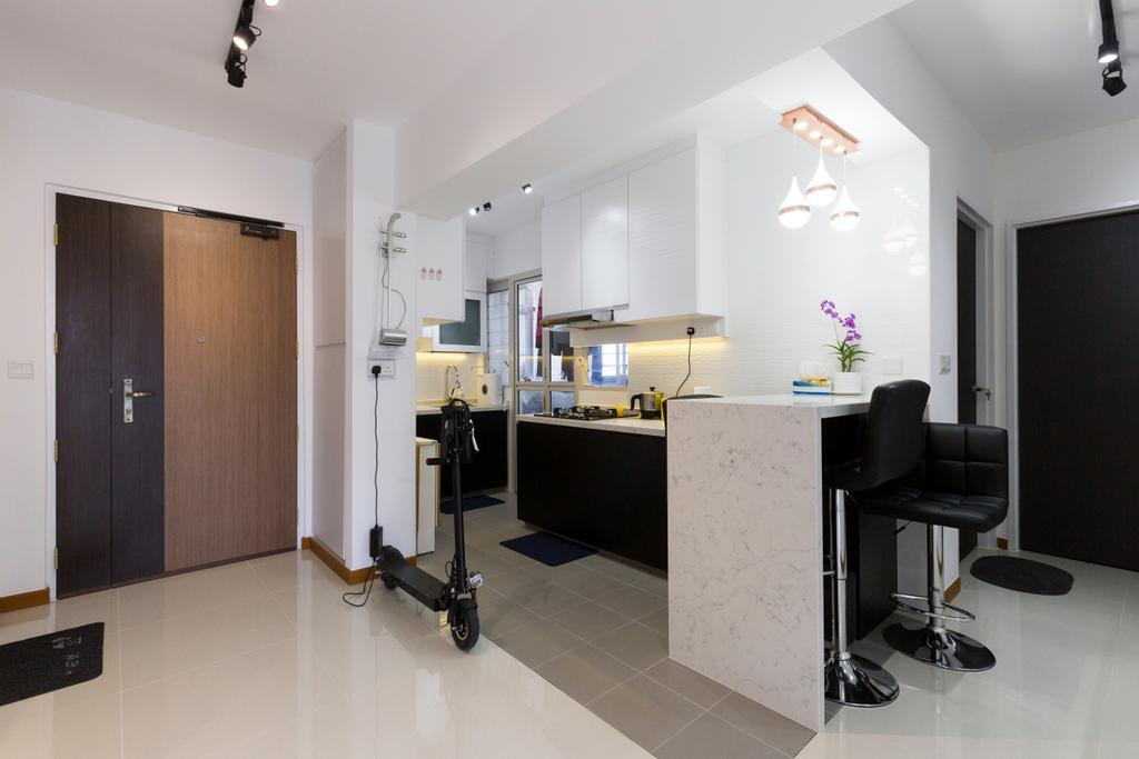 Contemporary, HDB, Sumang Walk, Interior Designer, Tab Gallery