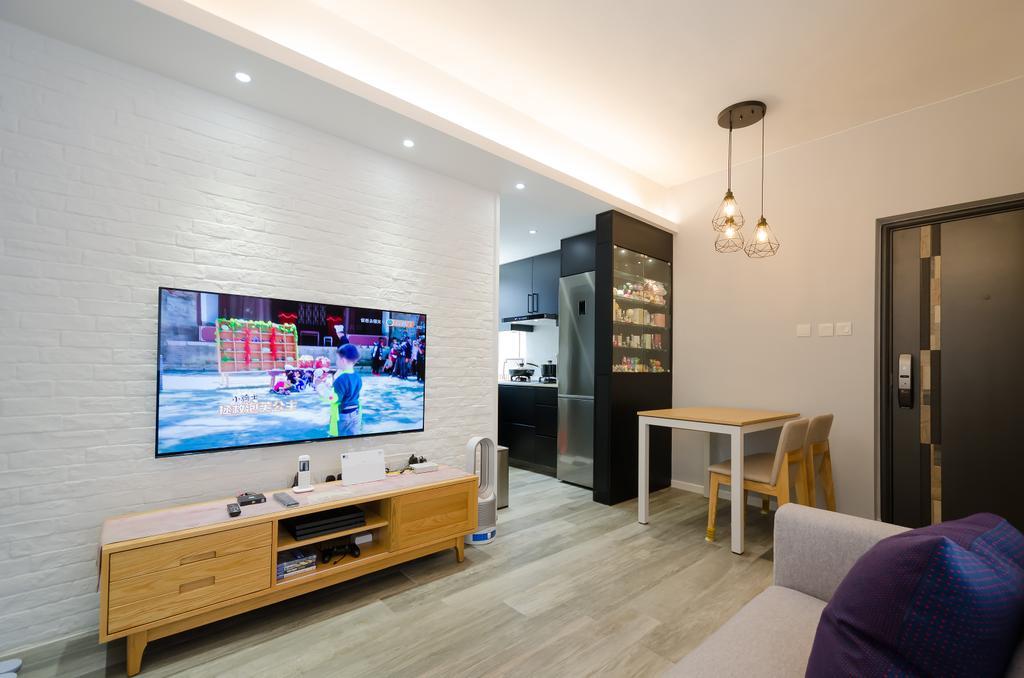 摩登, 私家樓, 客廳, 順興大廈-2, 室內設計師, 現時設計