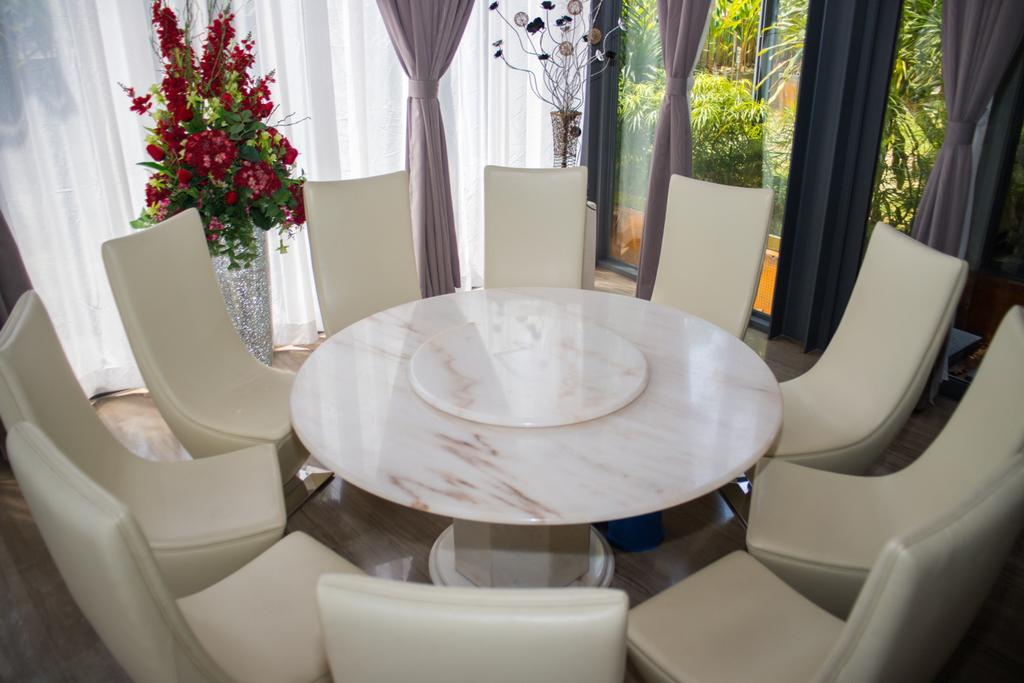Modern, Landed, Dining Room, The Nest House, Seri Kembangan, Interior Designer, Fuyu Dezain Sdn. Bhd., Contemporary