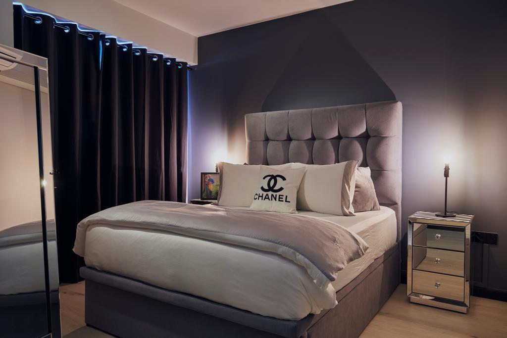 Contemporary, HDB, Bedroom, Punggol East, Interior Designer, Renolux Interior