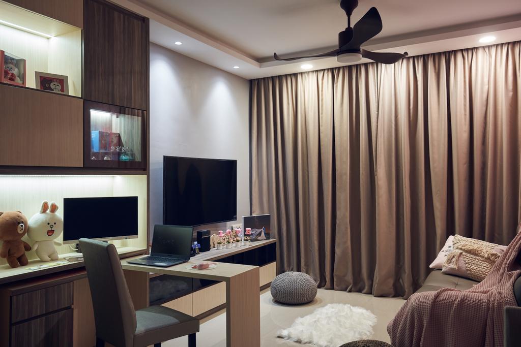 Contemporary, Condo, Parc Life, Interior Designer, Renolux Interior
