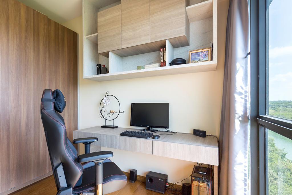 Contemporary, Condo, Study, Upper Serangoon View, Interior Designer, Design Story