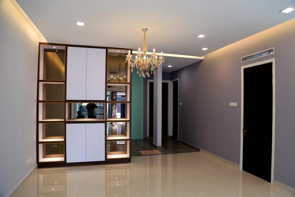 Modern, Landed, Living Room, USJ Height, Subang Jaya, Interior Designer, Lequen Construction And Renovation Group, Minimalist, Contemporary