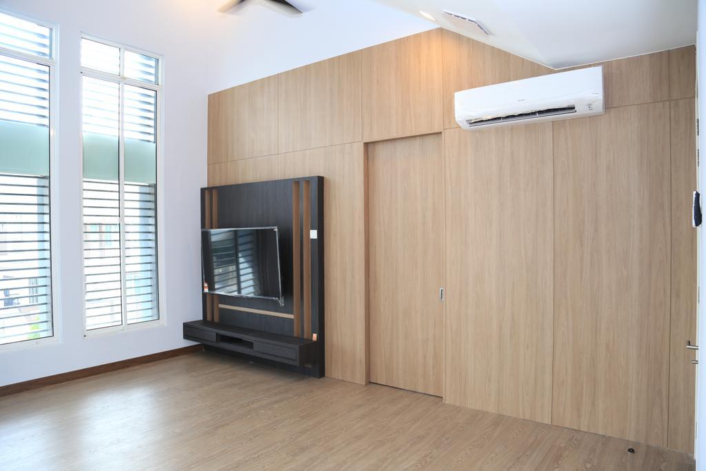 Modern, Landed, Bedroom, USJ Height, Subang Jaya, Interior Designer, Lequen Construction And Renovation Group, Minimalist, Contemporary