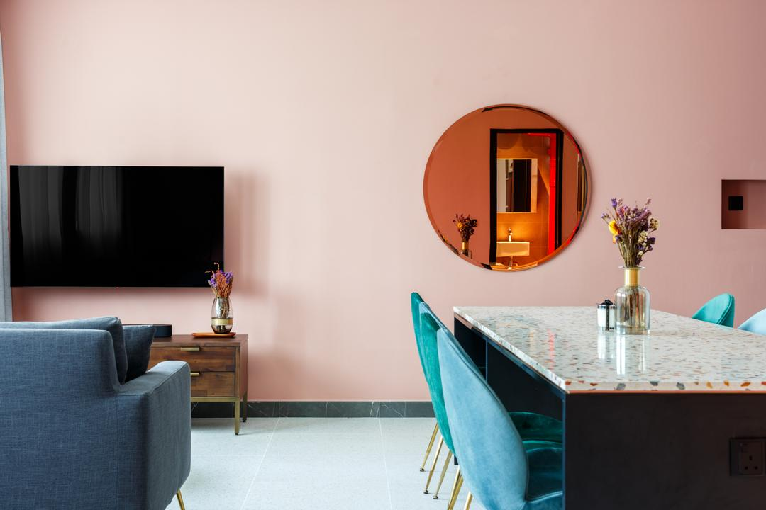 Pink, Fresh & Functional: This Couple's Not-So-Typical HDB