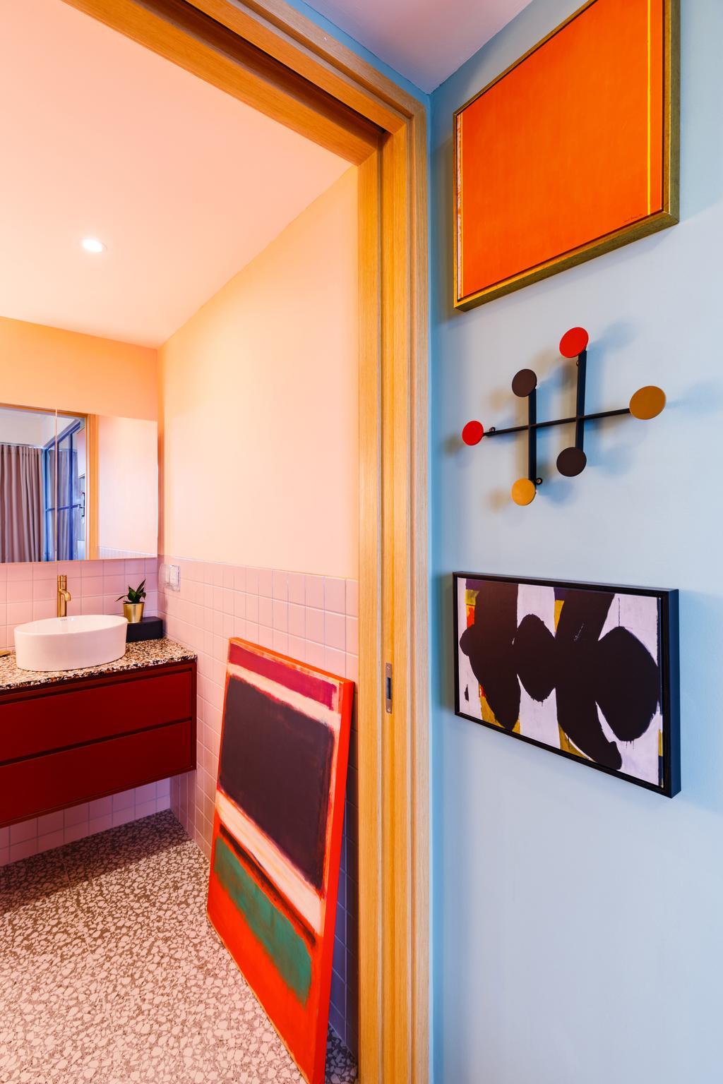 Eclectic, Condo, Bathroom, Commonwealth Towers, Interior Designer, The Scientist, Contemporary
