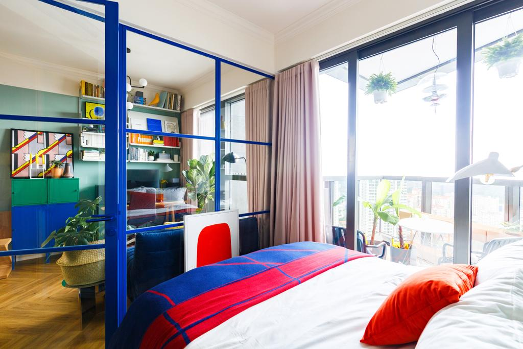 Eclectic, Condo, Bedroom, Commonwealth Towers, Interior Designer, The Scientist, Contemporary
