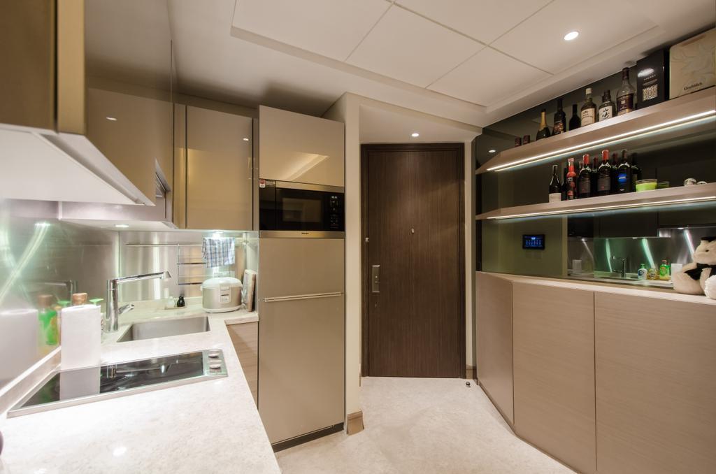 私家樓, 廚房, 加多近山, 室內設計師, 現時設計