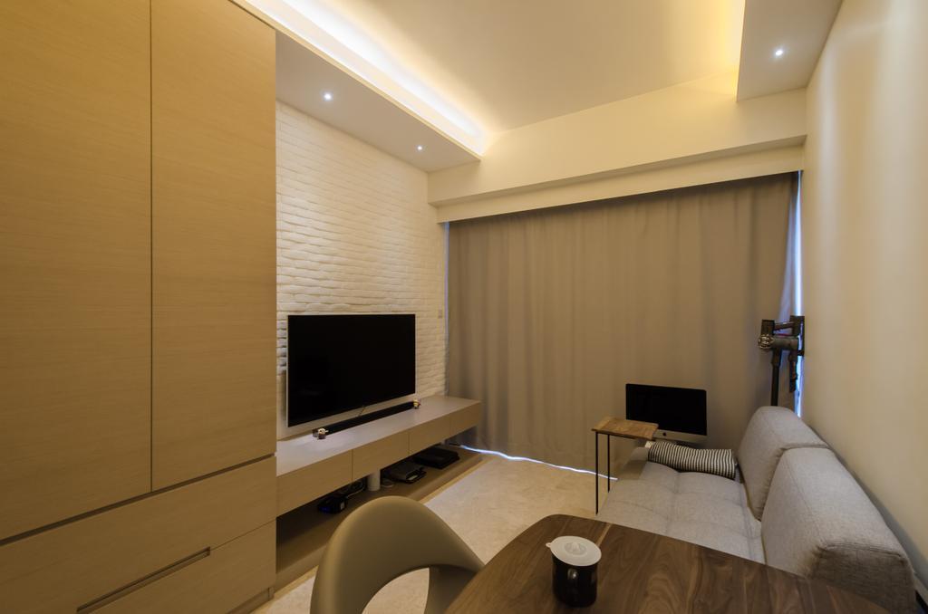 私家樓, 客廳, 加多近山, 室內設計師, 現時設計