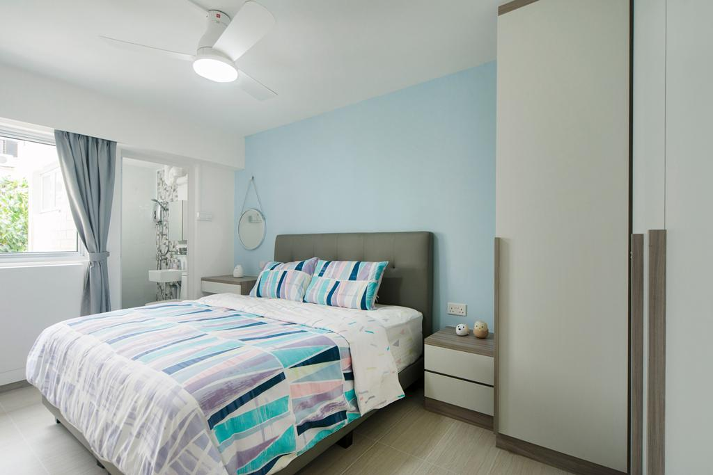 Minimalist, HDB, Bedroom, Bishan Street 12, Interior Designer, Cozy Ideas Interior Design
