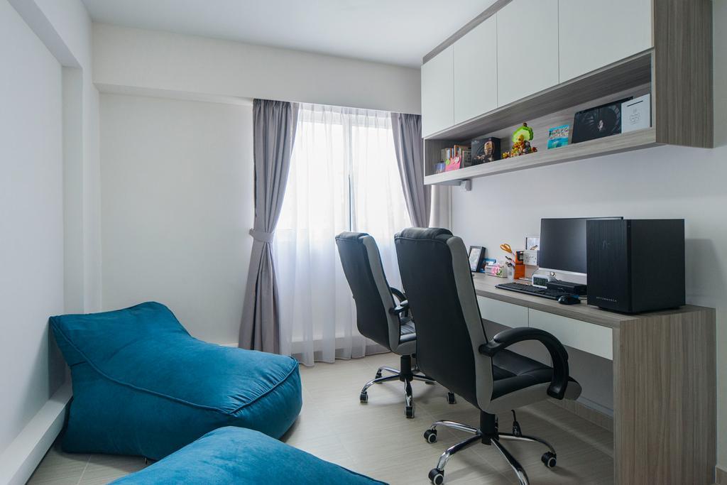 Minimalist, HDB, Study, Bishan Street 12, Interior Designer, Cozy Ideas Interior Design