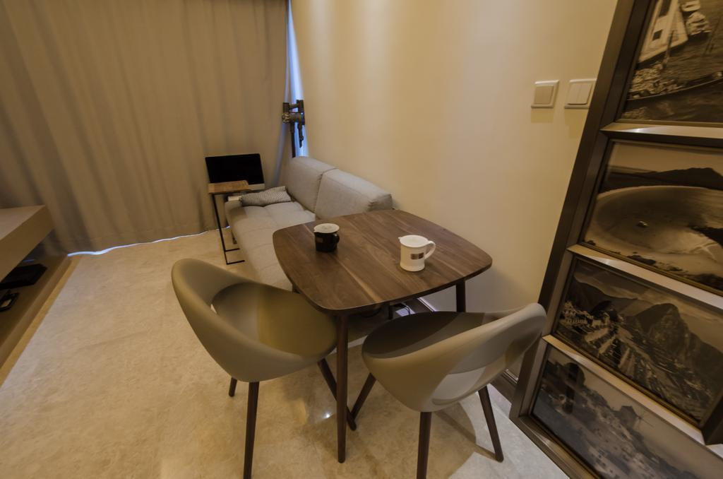 私家樓, 飯廳, 加多近山, 室內設計師, 現時設計