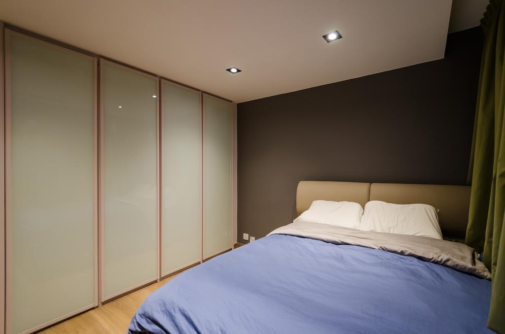 私家樓, 睡房, 會景閣, 室內設計師, 現時設計