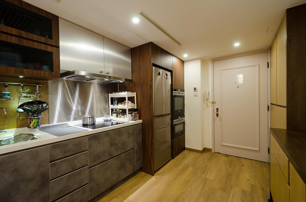 私家樓, 廚房, 會景閣, 室內設計師, 現時設計