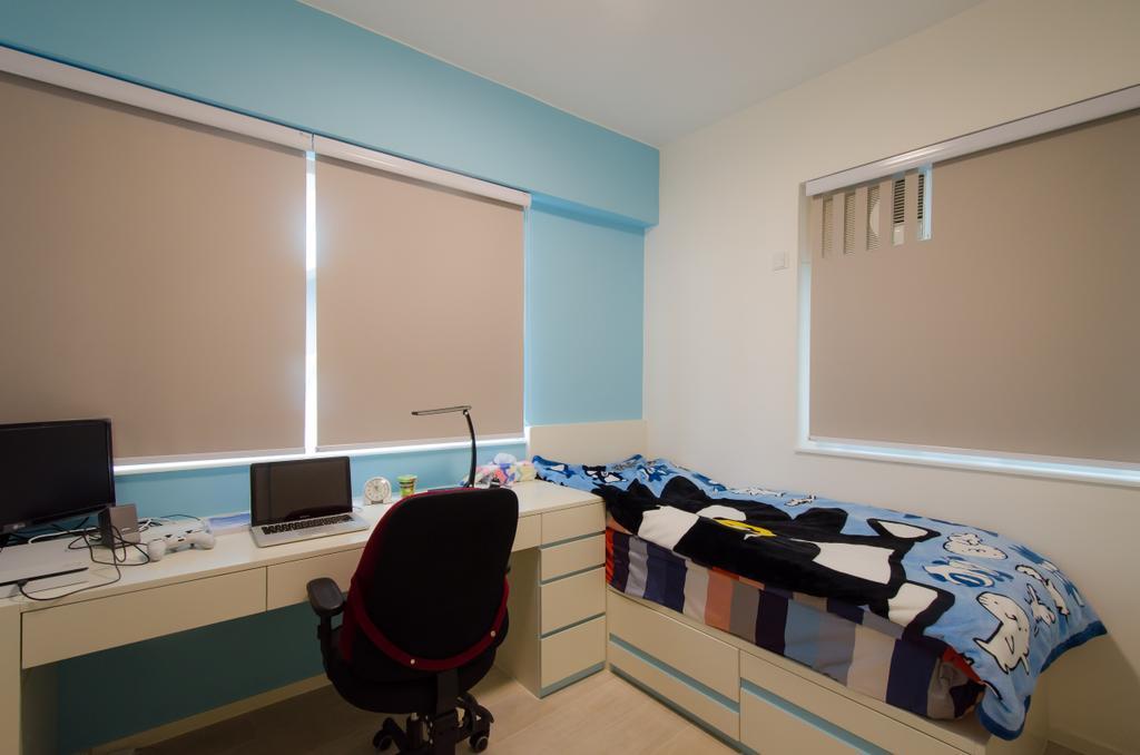 簡約, 私家樓, 睡房, 珊瑚閣, 室內設計師, 現時設計