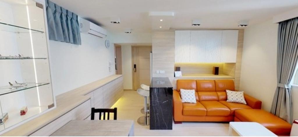 簡約, 公屋/居屋, 客廳, 富景花園, 室內設計師, Shine Interior Design