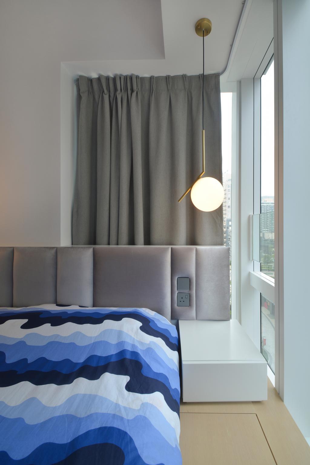 私家樓, 睡房, Monterey, 室內設計師, Space Design