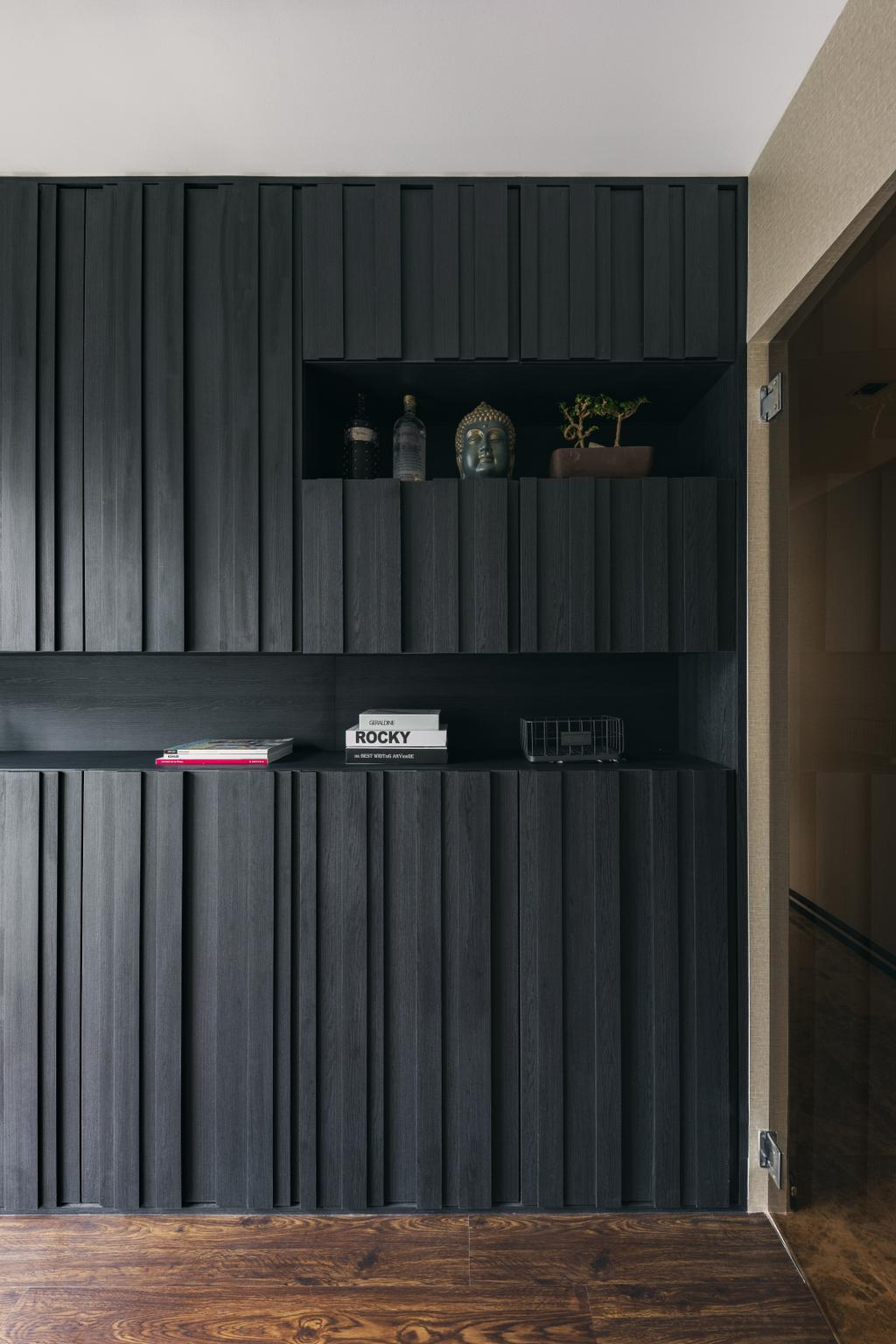Modern, Condo, Study, Bellewaters, Interior Designer, Voila, Contemporary