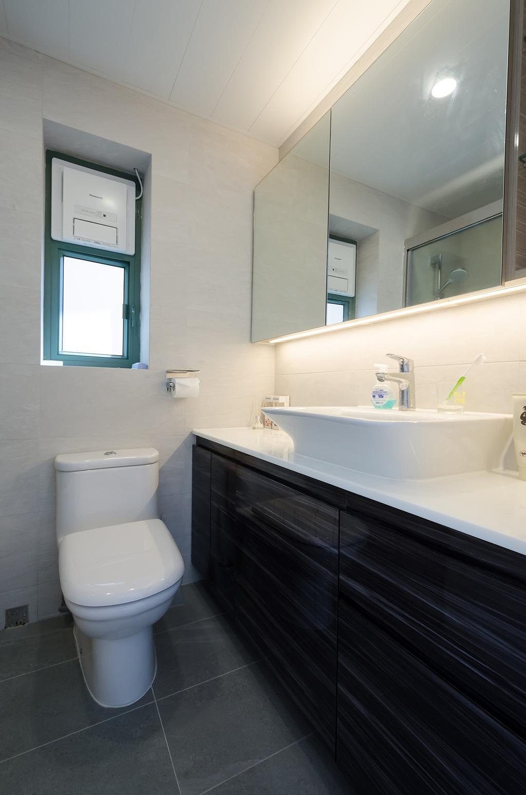 簡約, 私家樓, 維港灣 C 室, 室內設計師, 現時設計
