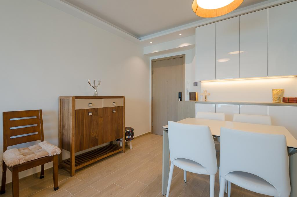 簡約, 私家樓, 飯廳, 維港灣 C 室, 室內設計師, 現時設計