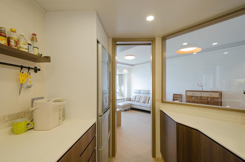 簡約, 私家樓, 廚房, 維港灣 C 室, 室內設計師, 現時設計