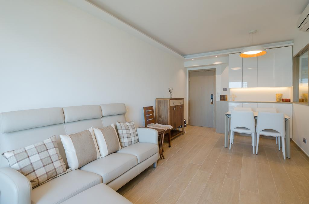 簡約, 私家樓, 客廳, 維港灣 C 室, 室內設計師, 現時設計