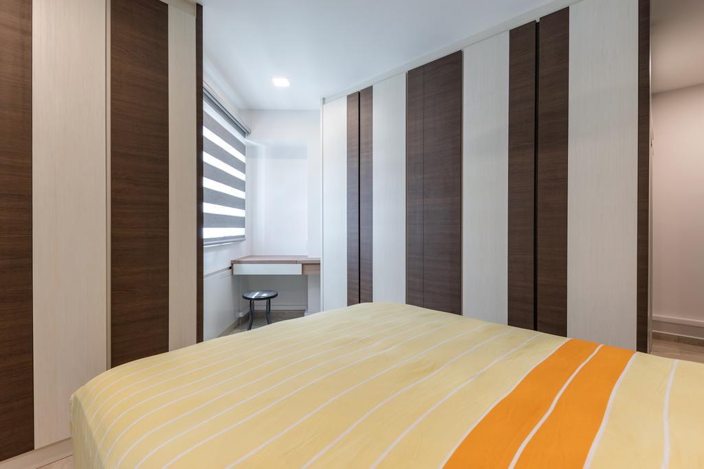 Contemporary, HDB, Bedroom, Bukit Merah View, Interior Designer, Azcendant