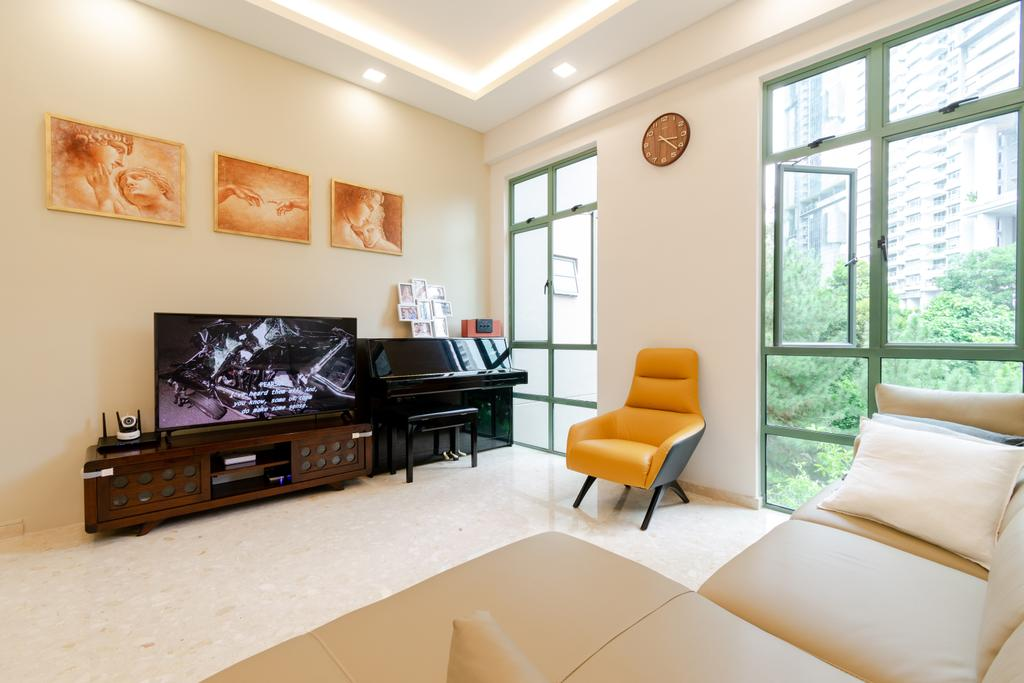 Contemporary, Condo, Living Room, Tanglin Regency, Interior Designer, Yang's Inspiration Design