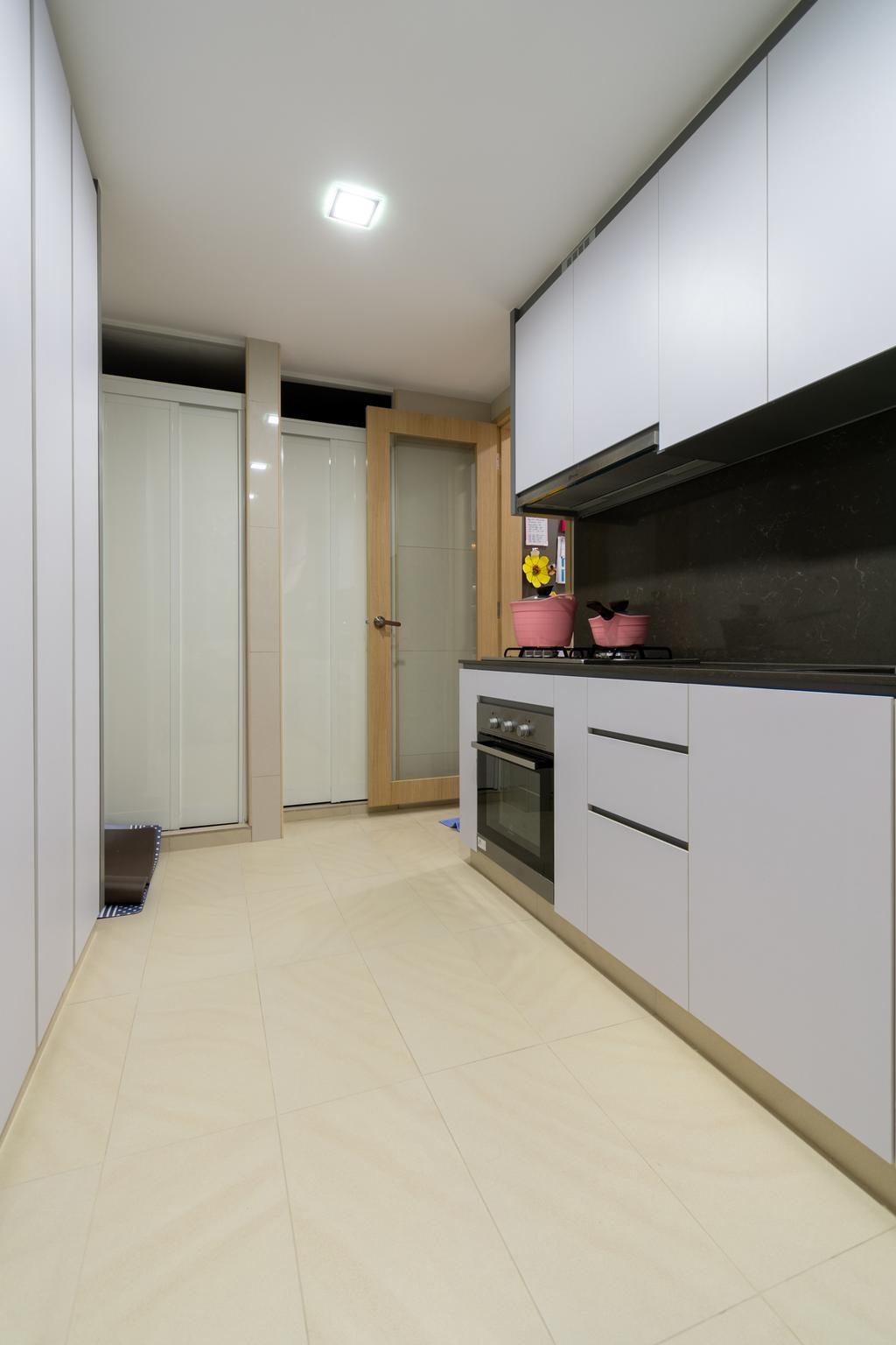 Contemporary, Condo, Kitchen, Wandervale, Interior Designer, Yang's Inspiration Design
