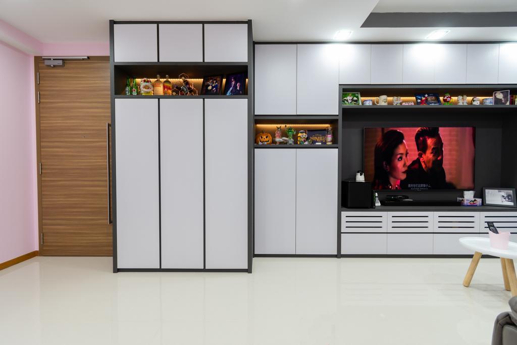 Contemporary, Condo, Living Room, Wandervale, Interior Designer, Yang's Inspiration Design