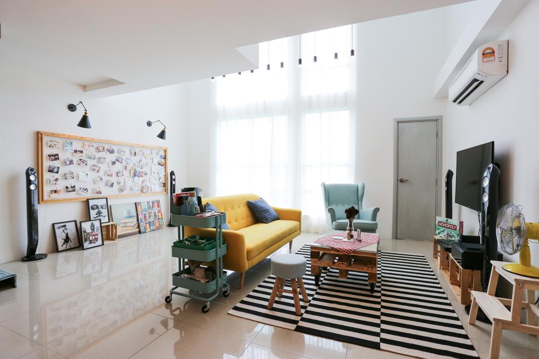 The Arte, Subang West Living Room Interior Design 3