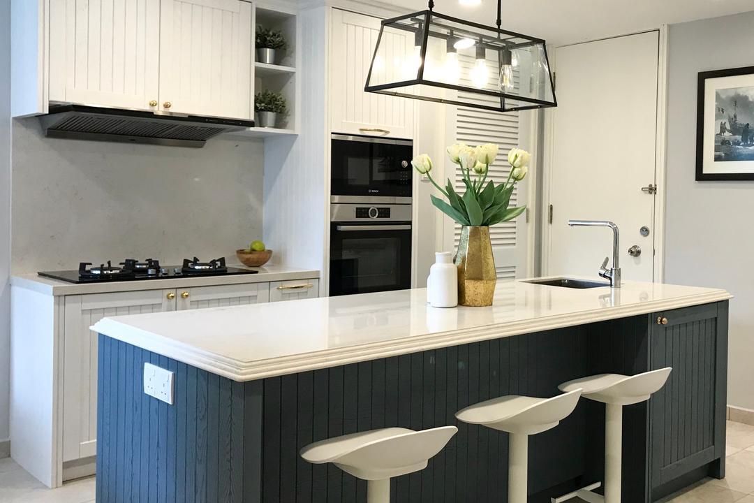 Bandar Rimbayu, Kota Kemuning Kitchen Interior Design 4