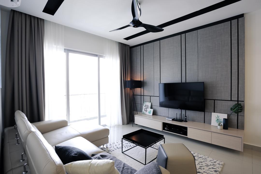 Villa Crystal, South Desa Park Living Room Interior Design 4
