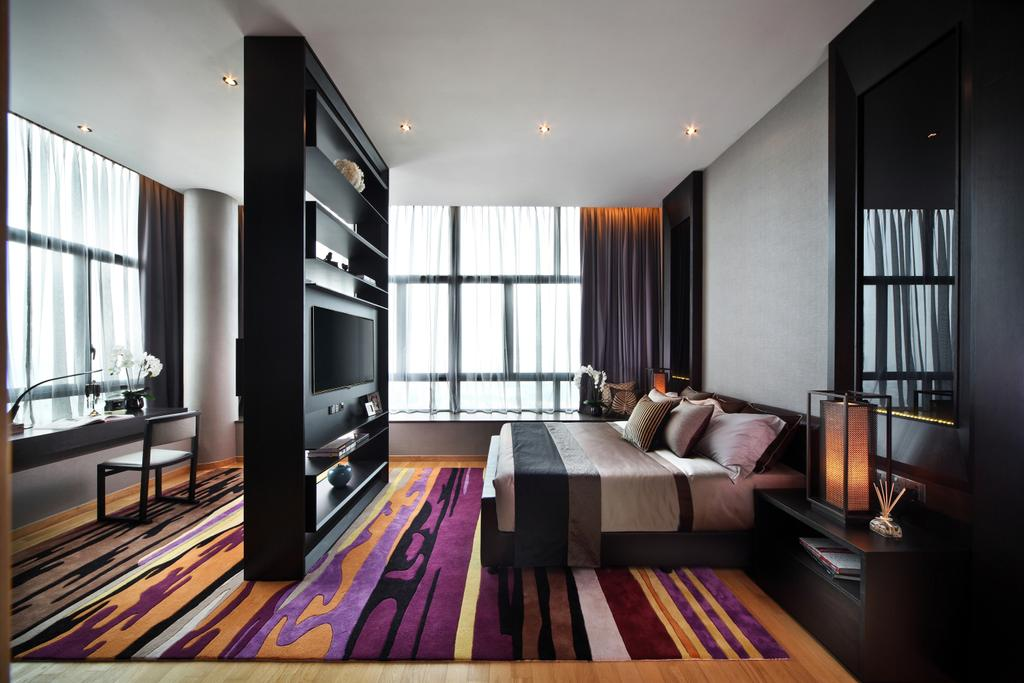 Contemporary, Condo, Bedroom, Soleil @ Sinaran, Interior Designer, Haireliving, Transitional