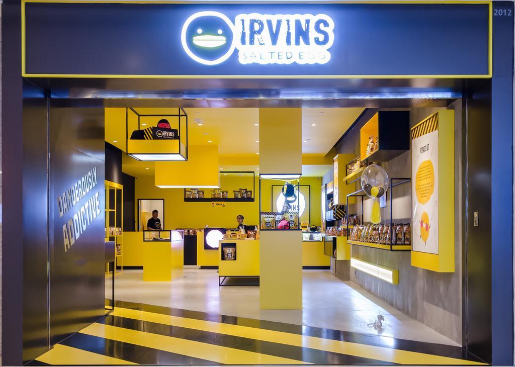 IRVINS Salted Egg, 商用, 室內設計師, 現時設計