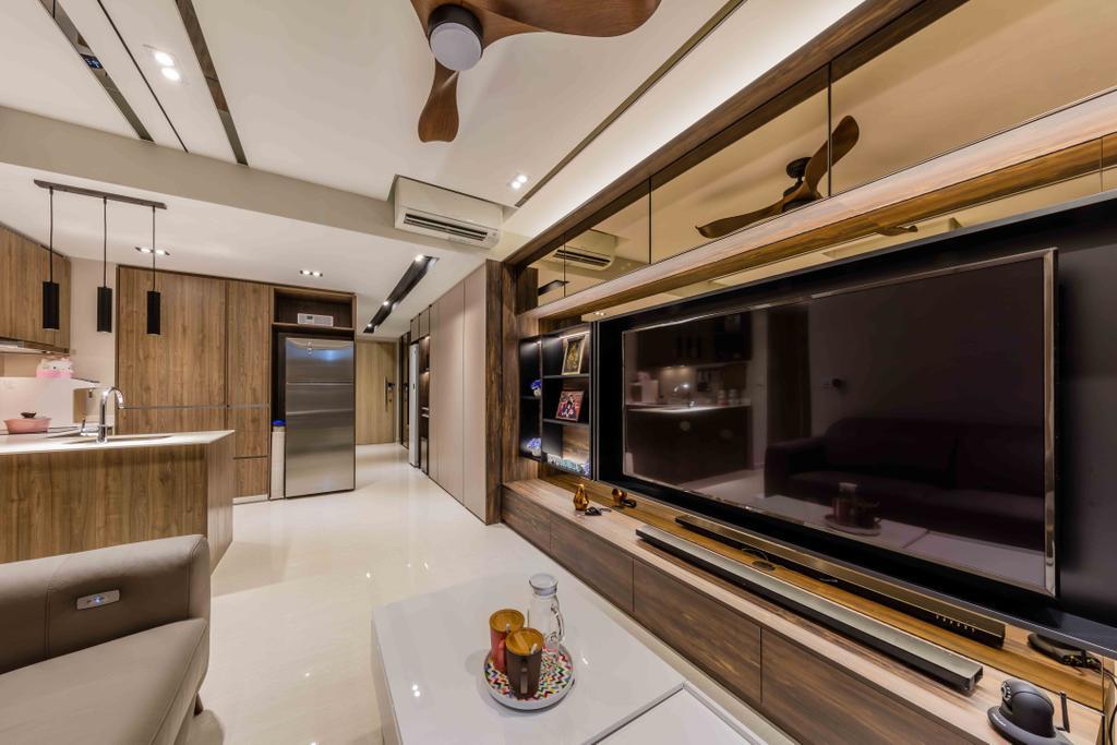 Contemporary, Condo, Living Room, Sol Acres, Interior Designer, Ciseern