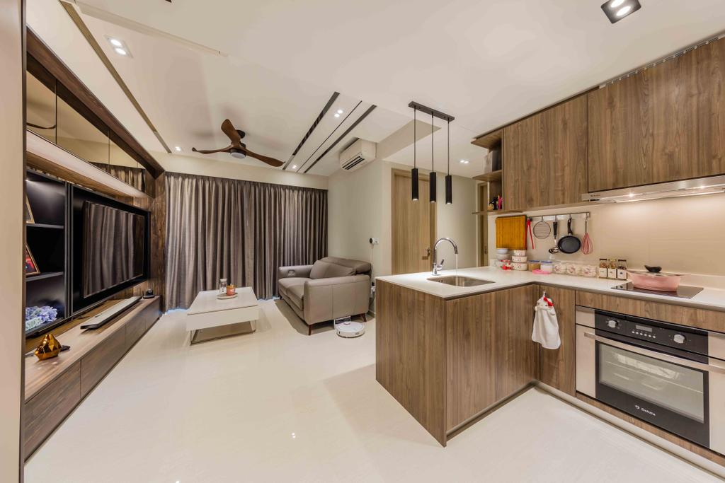 Contemporary, Condo, Sol Acres, Interior Designer, Ciseern