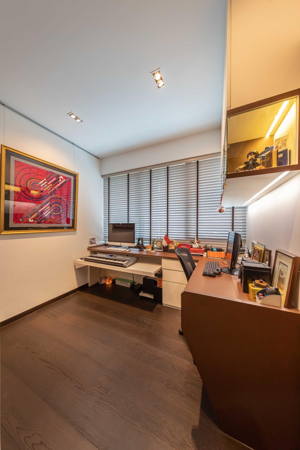 Contemporary, Condo, Study, Amber Skye, Interior Designer, Ciseern