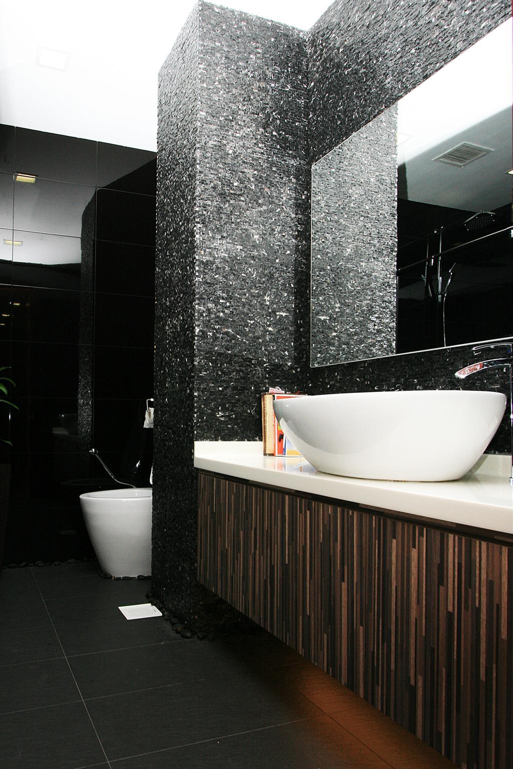 Contemporary, Landed, Bathroom, Woo Mon Chew Terrace, Interior Designer, Lifestyle + Interiors, Modern