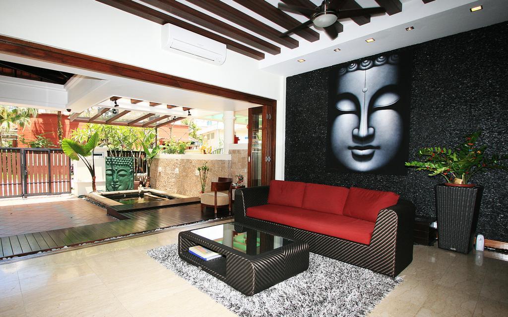 Contemporary, Landed, Living Room, Woo Mon Chew Terrace, Interior Designer, Lifestyle + Interiors, Modern