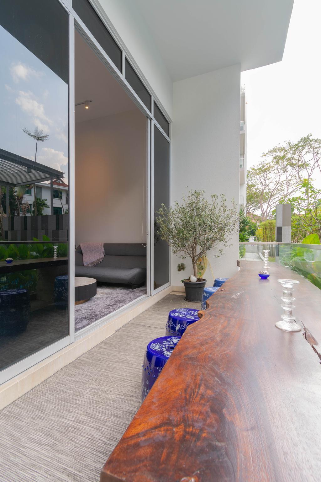 Contemporary, Condo, Balcony, The Fernhill, Interior Designer, Imago Dei 3