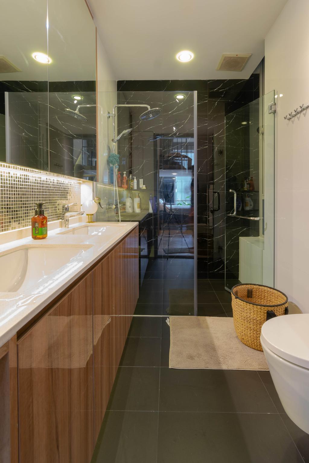 Contemporary, Condo, Bathroom, The Fernhill, Interior Designer, Imago Dei 3